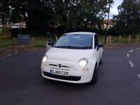 WHITE 2010 FIAT 500 1 OWNER 1.2 PETROL VERY LOW MILEAGE
