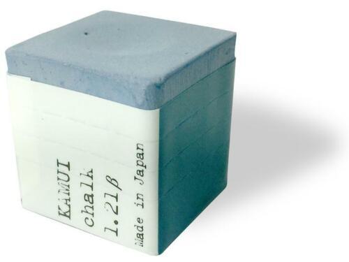 Kamui 1.21 Sky Blue Pool Cue Chalk, 1 Piece, Authorized Distributor.