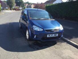 Ford C Max, 2010, Blue, Petrol, Manual transmission, 60,000 miles