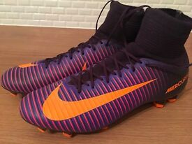 Nike Mercurial Sock Boots Size 8 - Excellent Condition!