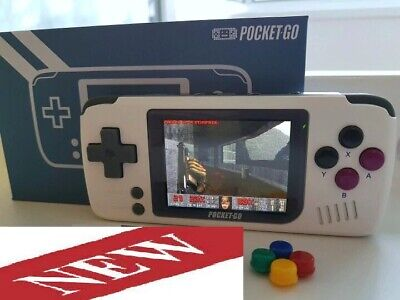 New Best Video Game Console PocketGO Portable Handheld Retro Game MicroSD