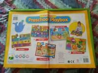 Preschool jigsaw playbox