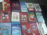 50 MIXED FAMILY CHRISTMAS CARDS