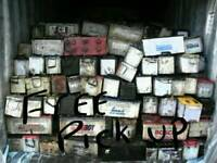 Wanted scrap batteries and break discs