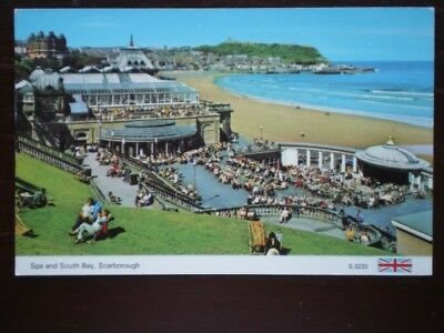 POSTCARD YORKSHIRE SCARBOROUGH - SPA AND SOUTH BAY
