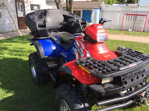 2nd owner, 2up seat, great quad.