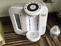 tommee tippee perfect prep machine in VGC with new bottle & filter Sheffield £35 ovno