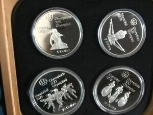 1976 Montreal Olympic Coin gift sets