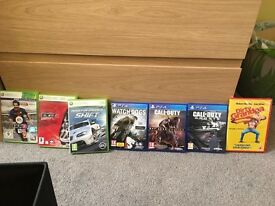 **PS4 and XBOX 360 GAMES INC Call of Duty**