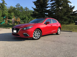 2016 Mazda 3 Sport GS Hatchback Soul Red