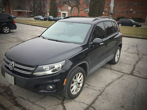 LEASE TAKEOVER: 2015 Volkswagen Tiguan SUV