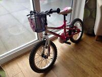 Muddy fox girls bike for 4-7 year old