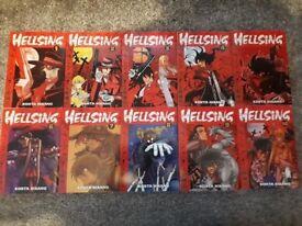 Manga books - complete sets and individual books