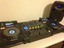 2 CDJ 900, 1 DJM 800, 1 Titan Powerful Speaker, 1 Table Mango Hill Pine Rivers Area Preview