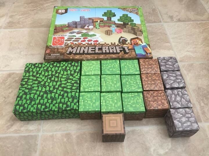 Minecraft Papercraft - boxed like new