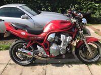 1997 suzuki bandit 600 streetfighter long mot swaps welcome