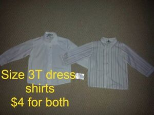 Boy's Size 3 , 3X , and 4 Clothing for Sale!