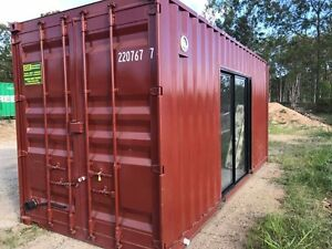 Accommodation Container Cabin Portable Building Weekender Donga Woodford Moreton Area Preview
