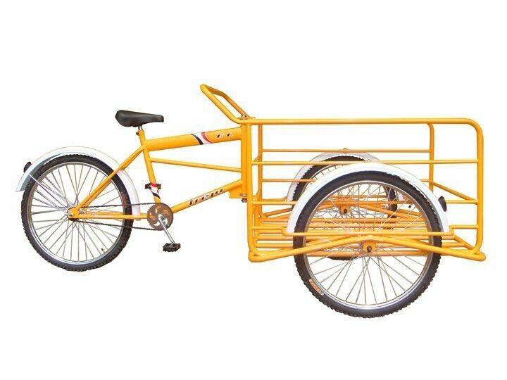 TREJO CARGO TRICYCLE TRIKE CHARGER REFORZADO MODEL