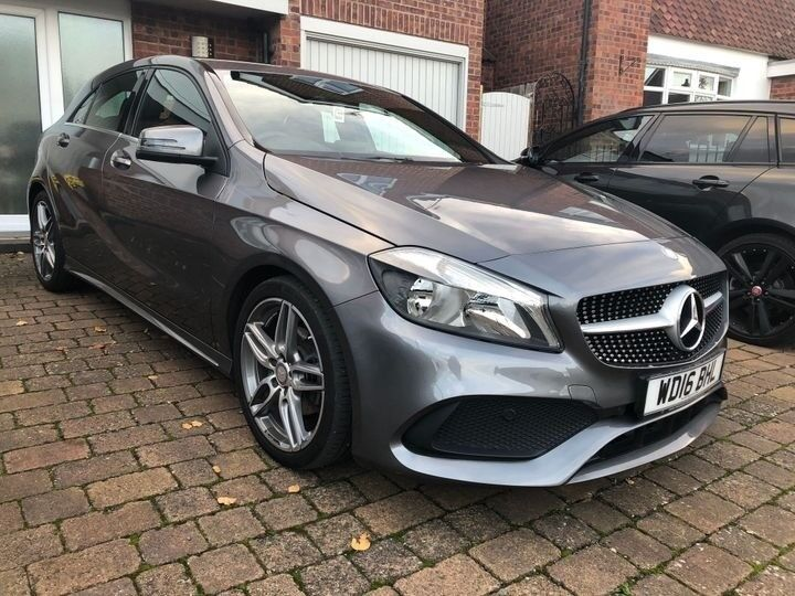 Mercedes Benz A Class 1 6 A180 Amg Line S S 5dr In Leicester