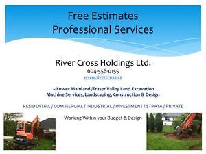 Landscaping - Machine Services - Bobcat & Excavation
