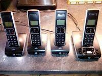 BT Synergy 5500 Quad Phone Set *Excellent Condition*