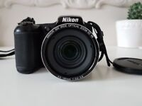 Nikon Coolpix L820 camera, great condition + battery charger