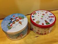 NEW Christmas Tins