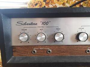 Silvertone Amplifier - piggyback model - SSPU $400.00