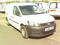 Volkswagen Caddy 1.6 Tdi 102Ps Startline Van Maxi DIESEL MANUAL WHITE (2015)