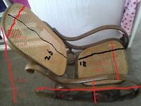 Lovely old Bentwood rocking chair
