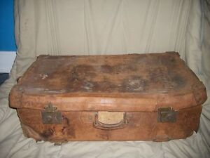 White Star Line 1903 Leather Suitcase