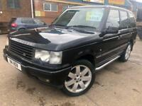Land Rover Range Rover 4.6 V8 Auto 2000 Vogue LPG only 75K Miles FSH BLACK