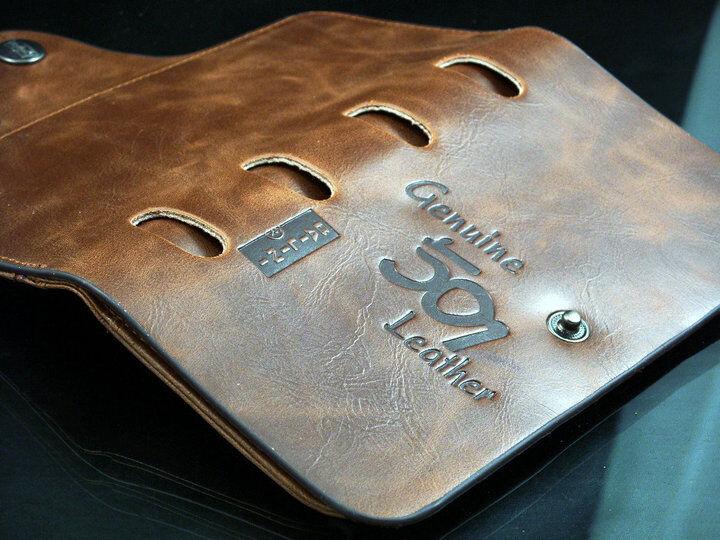 Men's Leather Wallet Bifold ID Card Holder Checkbook Long Clutch Billfold Purse 8