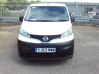 Nissan Nv200 1.5 Dci 89 Se Van DIESEL MANUAL WHITE (2013)