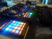 TRAKTOR S4 MK2 + TRAKTOR F1 + 2 PRO 2.5 software + PRO DJ HEADPHONES + BAG