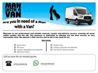 24hrs MAN AND VAN REMOVAL AND RUBBISH DISPOSAL 07535100529