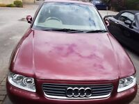 AUDI A3 1.9 TDi turbo 2002 6 gears hatchback with 4 months MOT