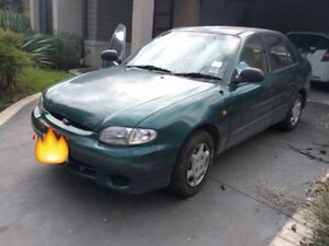 Hyundai Excel Sell/swap 4 door auto twin cam Thomastown Whittlesea Area Preview