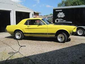 1968 Mustang coupe drag car