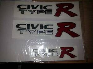 civic type r sticker set Liverpool Liverpool Area Preview