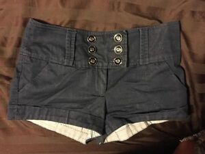 Navy Blue shorts - size small / size 4