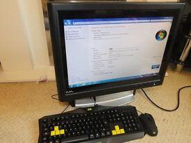 JOB LOT X8 ALL IN ONE DUAL CORE PC COMPUTERS 2GB RAM 320GB HD WIN7 BARGAIN BARGAIN