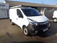 Vauxhall Vivaro L1 2900 1.6Cdti 115Ps H1 Van DIESEL MANUAL WHITE (2014)