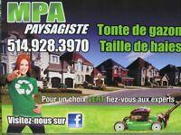 MPA PAYSAGISTE 514.928.3970