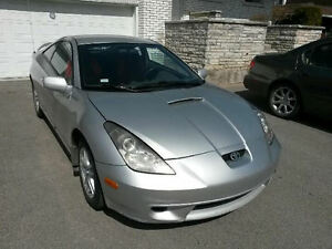2002 Toyota Celica GT Coupe - Must see! Faut voir!