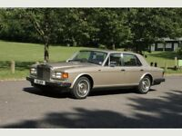 Rolls Royce Silver Spirit Mk 1 - 1988 - Gold ** Low Mileage ** Personalised Plate **