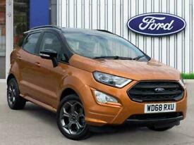 image for 2018 Ford Ecosport 1.0t Ecoboost Gpf St Line Suv 5dr Petrol Manual s/s 125 Ps Ha
