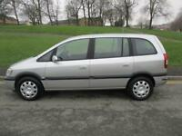 2005 Vauxhall Zafira 1.8i 16v auto Life With Long MOT PX Welcome
