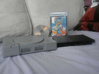 PS1 and PS2 Consoles spares or repairs and Sonic hero game.